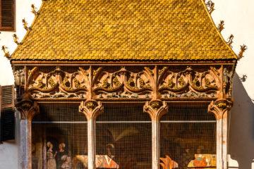 Goldenes Dachl  Innsbruck Tirol Österreich by Peter Ehlert in Innsbruck im November