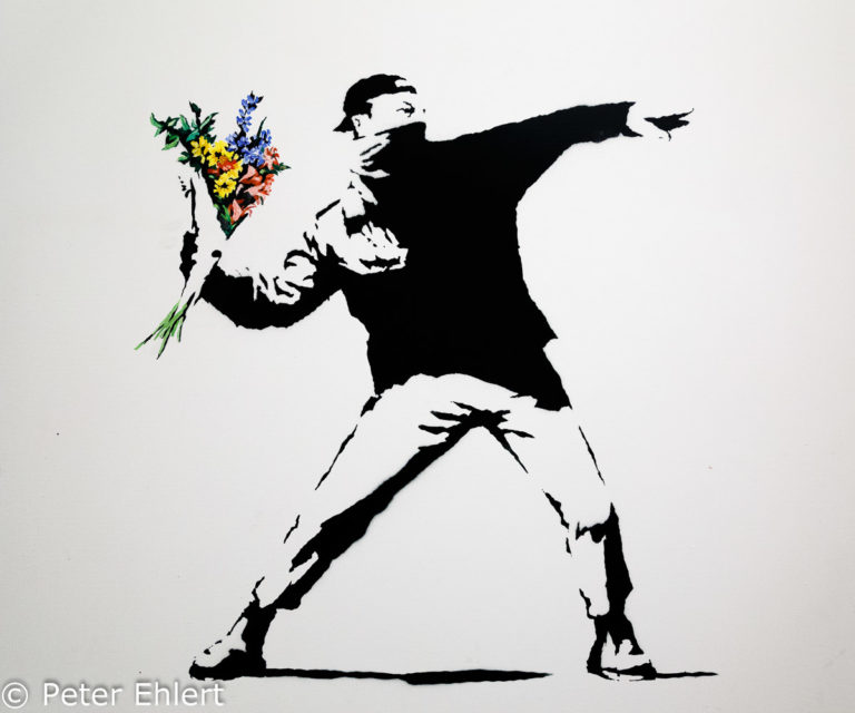 Banksy und Salvador Dali Ausstellung im modern and contemporary art Museum