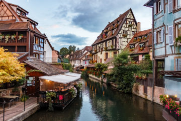 La Petite Venise  Colmar Alsace-Champagne-Ardenne-Lorrain Frankreich by Peter Ehlert in Colmar Weekend