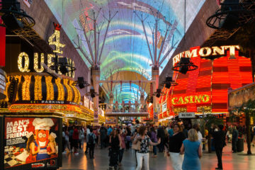 Street Experiance  Las Vegas Nevada  by Peter Ehlert in LasVegas Downtown