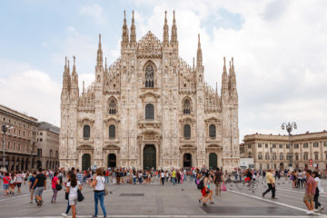 Domportal  Milano Lombardia Italien by Peter Ehlert in Mailand - Daytrip
