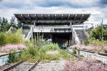 Bahnhof  München Bayern Deutschland by Peter Ehlert in Bahnhof München Olympiastadion
