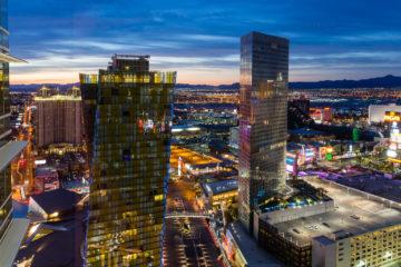 Vor Sonnenaufgang  Las Vegas Nevada USA by Peter Ehlert in Las Vegas Stadt und Hotels