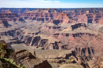 Mather Point  Grand Canyon Village Arizona USA by Peter Ehlert in Grand Canyon South Rim