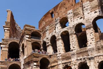 Colosseumgang  Roma Latio Italien by Peter Ehlert in Rom - Colosseum und Forum Romanum
