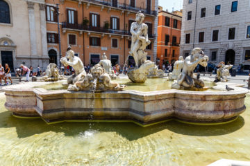 Fontana del Moro  Roma Latio Italien by Peter Ehlert in Rom - Plätze und Kirchen