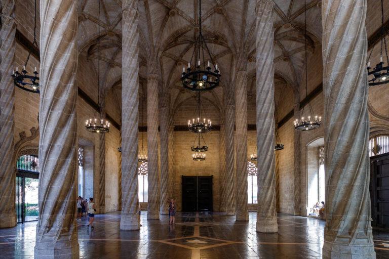 Valencia: Seidenbörse und Mercat Central