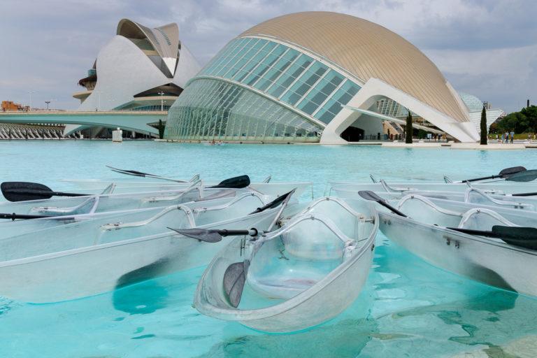 Valencia: Ciutat de les Arts i les Ciènces