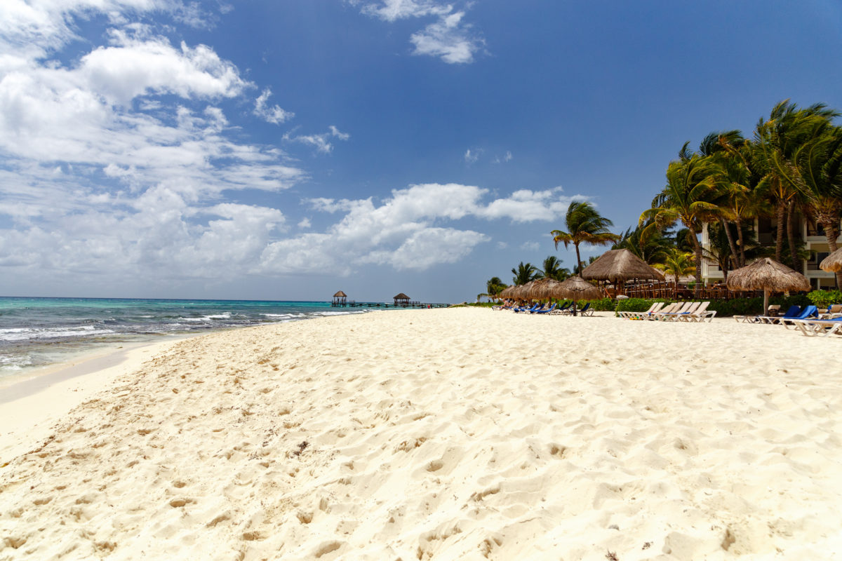 Strand von Playa del Carmen by Peter Ehlert in Playa del Carmen, Mexico