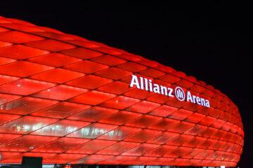 In der Nacht, nach dem Spiel  München Bayern Deutschland by Peter Ehlert in Allianz Arena