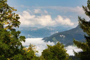 Blick aus Hotelzimmer  Berchtesgaden Bayern Deutschland by Peter Ehlert in Berchtesgadener Land