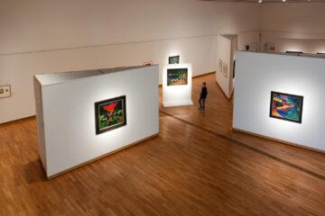 Expressionismus  Bernried Bayern Deutschland by Peter Ehlert in Buchheim Museum der Phantasie