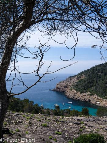 Blick auf Bucht  Sant Joan de Labritja Balearische Inseln - Ibiza Spanien by Peter Ehlert in Ibiza - Insel des Lichts