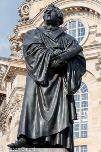 Martin Luther Statue  Dresden Sachsen Deutschland by Peter Ehlert in Dresden Weekend