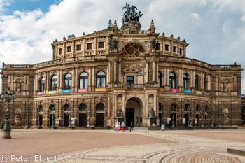 Semperoper  Dresden Sachsen Deutschland by Peter Ehlert in Dresden Weekend