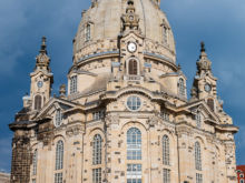 Frauenkirche  Dresden Sachsen Deutschland by Peter Ehlert in Dresden Weekend