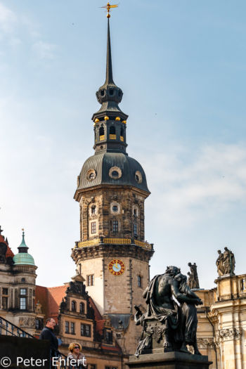 Hausmannsturm  Dresden Sachsen Deutschland by Peter Ehlert in Dresden Weekend