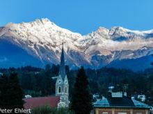 Kirche St. Nikolaus  Innsbruck Tirol Österreich by Peter Ehlert in Innsbruck im November
