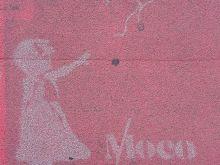Moco Werbung  Amsterdam Noord-Holland Niederlande by Lara Ehlert in Banksy und Salvador Dali Ausstellung