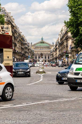 Avenue de l'Opéra  Paris Île-de-France Frankreich by Lara Ehlert in Paris, quer durch die Stadt