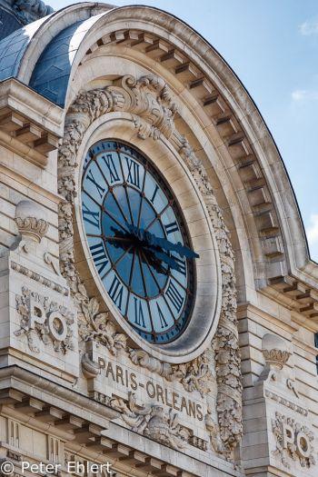 Uhr im Musée d'Orsay  Paris Île-de-France Frankreich by Peter Ehlert in Paris, quer durch die Stadt