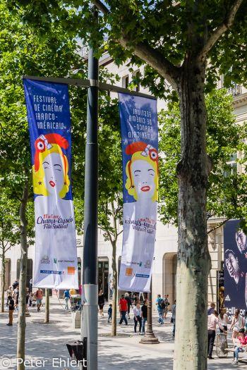 Av. des Champs-Élysées  Paris Île-de-France Frankreich by Lara Ehlert in Paris, quer durch die Stadt
