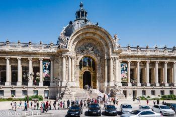 Petit Palais  Paris Île-de-France Frankreich by Peter Ehlert in Paris, quer durch die Stadt