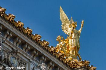 Opéra Garnier  Paris Île-de-France Frankreich by Peter Ehlert in Paris, quer durch die Stadt