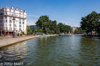 Kanalbogen  Paris Île-de-France Frankreich by Peter Ehlert in Paris, quer durch die Stadt