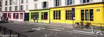 Bunte Antoine & Lili Geschäfte  Paris Île-de-France Frankreich by Peter Ehlert in Paris, quer durch die Stadt