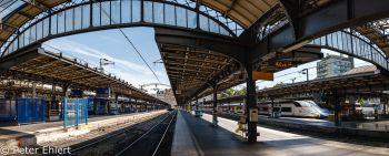 Bahnsteige  Paris Île-de-France Frankreich by Peter Ehlert in Paris, quer durch die Stadt