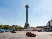 Place de la Bastille  Paris Île-de-France Frankreich by Peter Ehlert in Paris, quer durch die Stadt