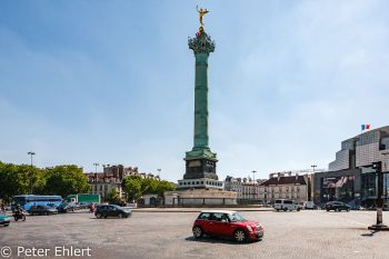 Place de la Bastille  Paris Île-de-France Frankreich by Peter Ehlert in Paris, quer durch die Stadt