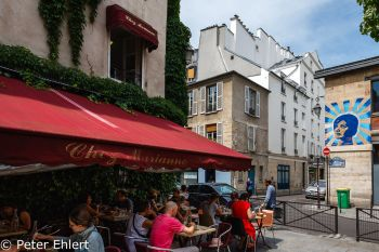 Bistrot  Paris Île-de-France Frankreich by Peter Ehlert in Paris, quer durch die Stadt