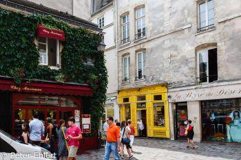 Bistrot und Geschäfte  Paris Île-de-France Frankreich by Peter Ehlert in Paris, quer durch die Stadt