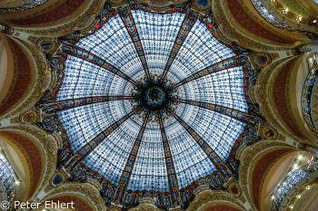 Deckenkuppel  Paris Île-de-France Frankreich by Peter Ehlert in Paris, quer durch die Stadt