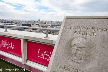 Dachterrasse  Paris Île-de-France Frankreich by Peter Ehlert in Paris, quer durch die Stadt