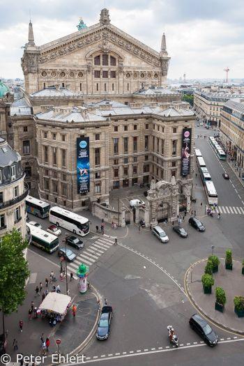 Rückseite Opéra Garnier  Paris Île-de-France Frankreich by Peter Ehlert in Paris, quer durch die Stadt