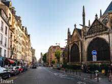 Église Saint-Séverin an Rue Saint-Jacques   Paris Île-de-France Frankreich by Peter Ehlert in Paris, Eiffelturm und Quartier Latin