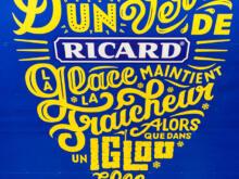 Ricard Werbung  Paris Île-de-France Frankreich by Peter Ehlert in Paris Montmatre