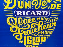 Ricard Werbung  Paris Île-de-France Frankreich by Peter Ehlert in Paris Montmatre