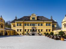Haupt- und Nebengebäude  Salzburg Salzburg Österreich by Peter Ehlert in Salzburg mit Schloss Hellbrunn