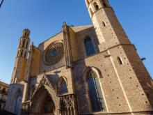 Portal mit Türmen  Barcelona Catalunya Spanien by Peter Ehlert in Barcelonas Kirchen