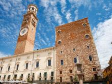 Torre dei Lamberti  Verona Veneto Italien by Peter Ehlert in Verona Weekend mit Opernaufführung