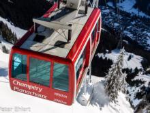 Seilbahn Champéry  Champéry Valais Schweiz by Peter Ehlert in Skigebiet Portes du Soleil