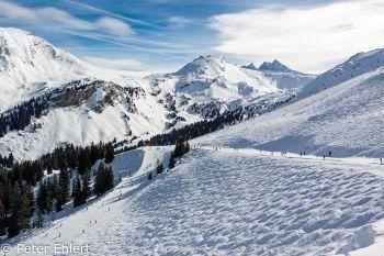 Ausgefahrene Piste  Champéry Valais Schweiz by Peter Ehlert in Skigebiet Portes du Soleil