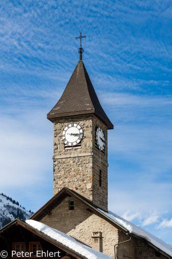 Kirchturm in Morgins  Champéry Valais Schweiz by Peter Ehlert in Skigebiet Portes du Soleil