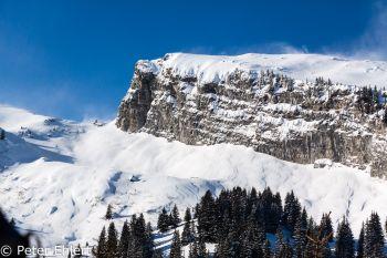 Tafelberg mit Schnee  Abondance Rhône-Alpes Frankreich by Peter Ehlert in Skigebiet Portes du Soleil