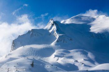Berge im Seitenlicht, aufgewirbelter Schnee  Abondance Rhône-Alpes Frankreich by Peter Ehlert in Skigebiet Portes du Soleil