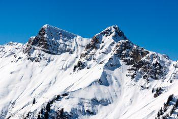 Berge im Mittagslicht  Champéry Valais Schweiz by Peter Ehlert in Skigebiet Portes du Soleil